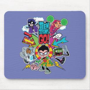 Teen Titans Go!   Team Arrow Graphic Mouse Mat