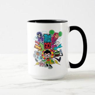 Teen Titans Go! | Team Arrow Graphic Mug