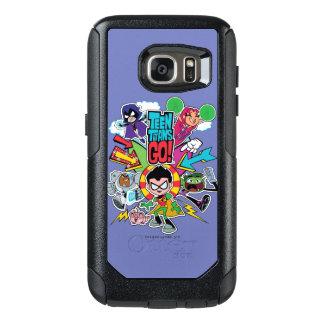 Teen Titans Go! | Team Arrow Graphic OtterBox Samsung Galaxy S7 Case