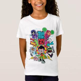 Teen Titans Go! | Team Arrow Graphic T-Shirt