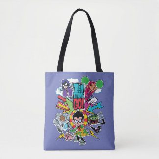 Teen Titans Go! | Team Arrow Graphic Tote Bag