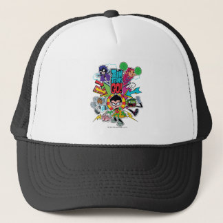 Teen Titans Go! | Team Arrow Graphic Trucker Hat