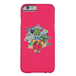 Teen Titans Go! | Team Group Graphic Barely There iPhone 6 Case