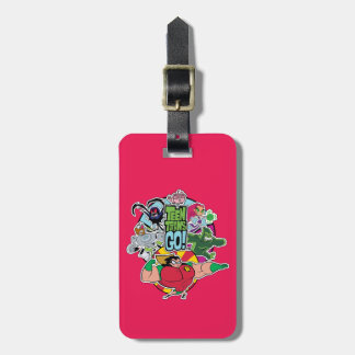 Teen Titans Go! | Team Group Graphic Luggage Tag