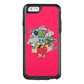 Teen Titans Go! | Team Group Graphic OtterBox iPhone 6/6s Case