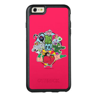Teen Titans Go!   Team Group Graphic OtterBox iPhone 6/6s Plus Case