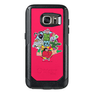 Teen Titans Go! | Team Group Graphic OtterBox Samsung Galaxy S7 Case