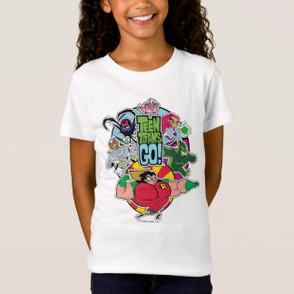 Teen Titans Go! | Team Group Graphic T-Shirt