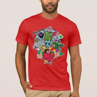 Teen Titans Go!   Team Group Graphic T-Shirt