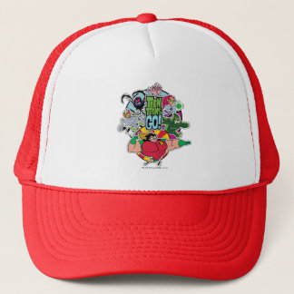 Teen Titans Go! | Team Group Graphic Trucker Hat