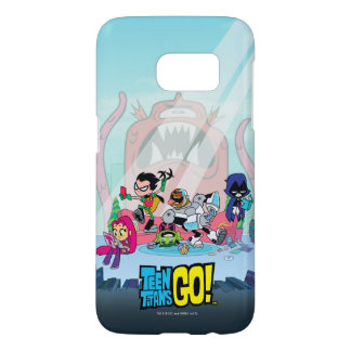 Teen Titans Go! | Tentacled Monster Approaches