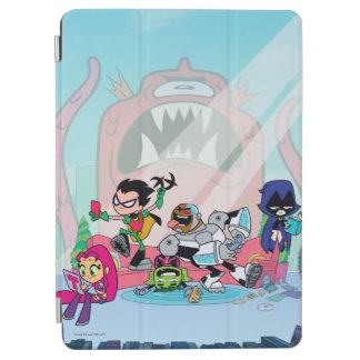 Teen Titans Go! | Tentacled Monster Approaches iPad Air Cover