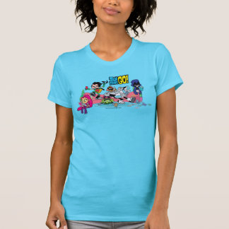 Teen Titans Go! | Tentacled Monster Approaches T-Shirt