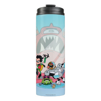 Teen Titans Go! | Tentacled Monster Approaches Thermal Tumbler