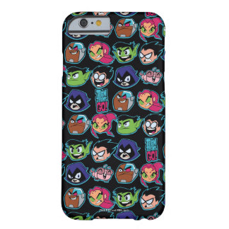 Teen Titans Go! | Titans Head Pattern Barely There iPhone 6 Case