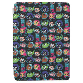 Teen Titans Go! | Titans Head Pattern iPad Air Cover