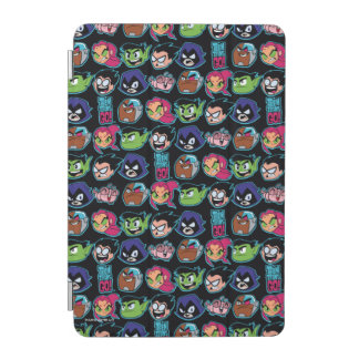 Teen Titans Go! | Titans Head Pattern iPad Mini Cover
