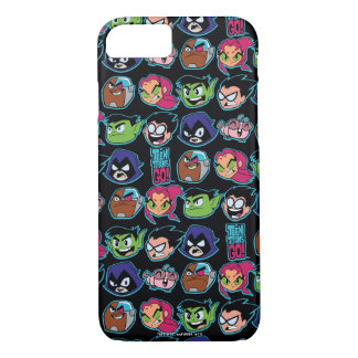 Teen Titans Go! | Titans Head Pattern iPhone 8/7 Case