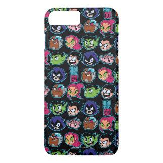 Teen Titans Go! | Titans Head Pattern iPhone 8 Plus/7 Plus Case