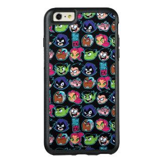 Teen Titans Go!   Titans Head Pattern OtterBox iPhone 6/6s Plus Case