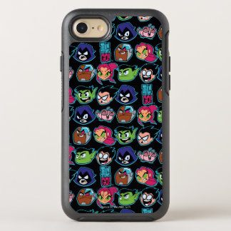 Teen Titans Go! | Titans Head Pattern OtterBox Symmetry iPhone 8/7 Case