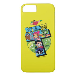 Teen Titans Go! | Titans Tower Collage iPhone 8/7 Case
