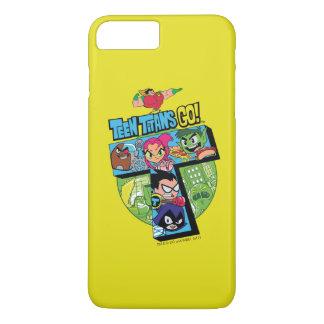 Teen Titans Go! | Titans Tower Collage iPhone 8 Plus/7 Plus Case
