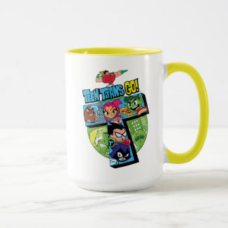 Teen Titans Go! | Titans Tower Collage Mug
