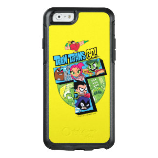 Teen Titans Go! | Titans Tower Collage OtterBox iPhone 6/6s Case