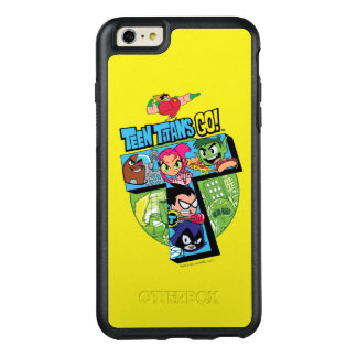 Teen Titans Go! | Titans Tower Collage OtterBox iPhone 6/6s Plus Case