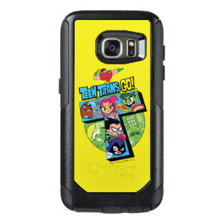 Teen Titans Go! | Titans Tower Collage OtterBox Samsung Galaxy S7 Case