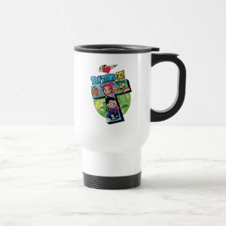 Teen Titans Go! | Titans Tower Collage Travel Mug