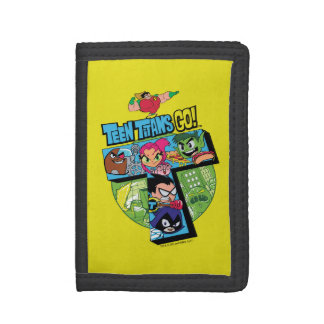 Teen Titans Go! | Titans Tower Collage Trifold Wallet