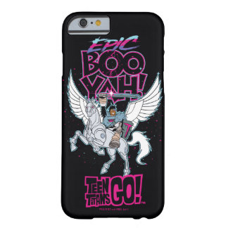 Teen Titans Go! | Warrior Cyborg Riding Pegasus Barely There iPhone 6 Case