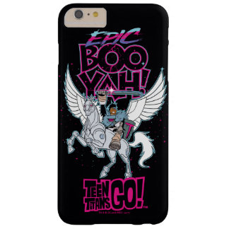 Teen Titans Go! | Warrior Cyborg Riding Pegasus Barely There iPhone 6 Plus Case