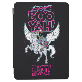 Teen Titans Go! | Warrior Cyborg Riding Pegasus iPad Air Cover