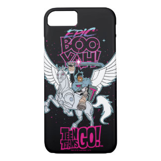 Teen Titans Go! | Warrior Cyborg Riding Pegasus iPhone 8/7 Case