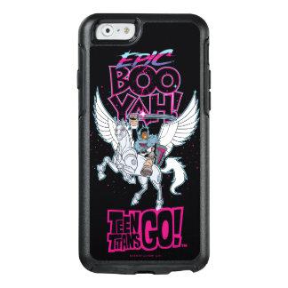Teen Titans Go! | Warrior Cyborg Riding Pegasus OtterBox iPhone 6/6s Case