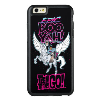 Teen Titans Go! | Warrior Cyborg Riding Pegasus OtterBox iPhone 6/6s Plus Case