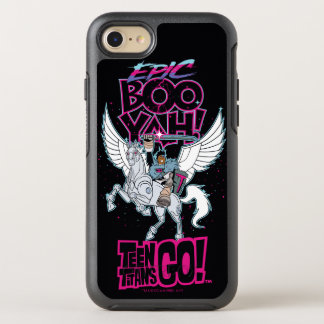 Teen Titans Go! | Warrior Cyborg Riding Pegasus OtterBox Symmetry iPhone 8/7 Case