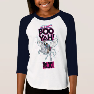Teen Titans Go! | Warrior Cyborg Riding Pegasus T-Shirt
