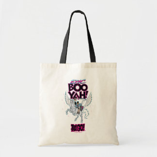 Teen Titans Go! | Warrior Cyborg Riding Pegasus Tote Bag