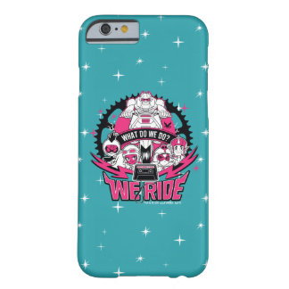 "Teen Titans Go! | ""We Ride"" Retro Moto Graphic Barely There iPhone 6 Case"