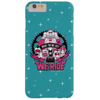 "Teen Titans Go! | ""We Ride"" Retro Moto Graphic Barely There iPhone 6 Plus Case"