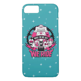 "Teen Titans Go! | ""We Ride"" Retro Moto Graphic iPhone 8/7 Case"