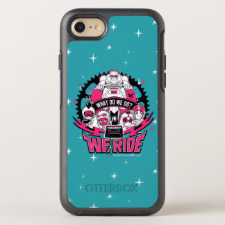 "Teen Titans Go! | ""We Ride"" Retro Moto Graphic OtterBox Symmetry iPhone 8/7 Case"