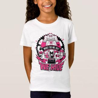 "Teen Titans Go! | ""We Ride"" Retro Moto Graphic T-Shirt"