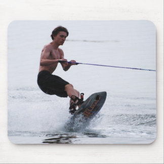 Teen Wakeboarder Mouse Pad