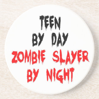 Teen Zombie Slayer Coasters