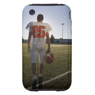 Teenage (16-17) American football player iPhone 3 Tough Cases